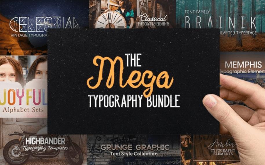 Top 60 Greatest Typographers and Typography Trends 2020 - fonts typographers bundles 12