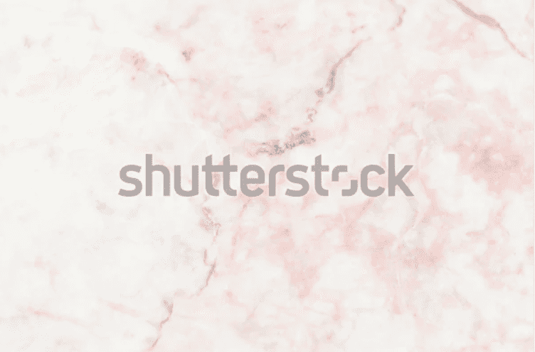 White marble background with dark pink-brown veins.