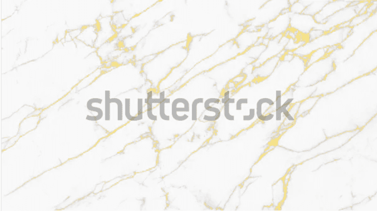 Marble background of ivory color with slight golden veins.