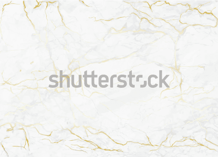 Marble background in silvery white with light golden blotchiness.