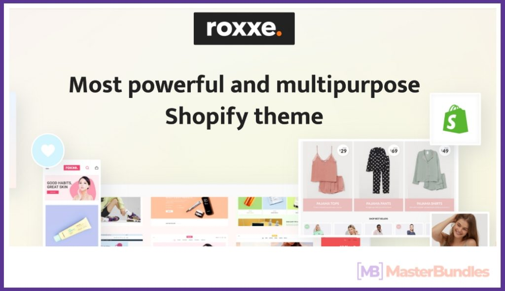 20+ Best Shopify Themes in 2020. Create an e-Store! - roxxe shopify theme