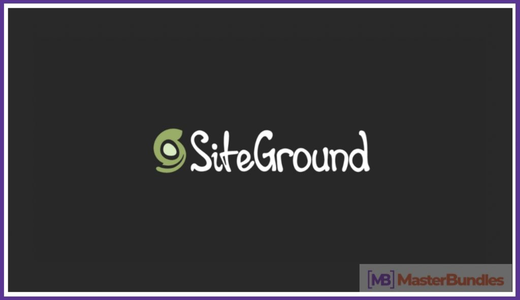Siteground Logo. Web Hosting Comparison 2020.