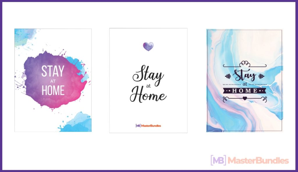Stay At Home Postcards