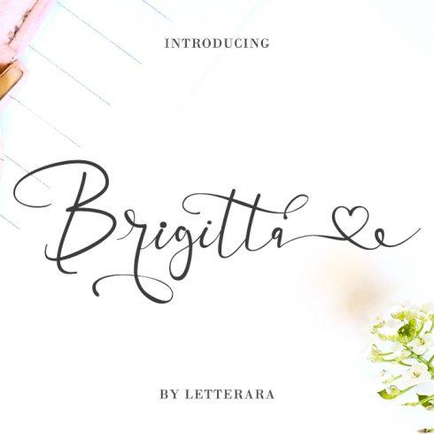 Best Handwritten Sharpie Font 2020 | Brigitta Handwritten Sharpie Font - 1a 1 490x490