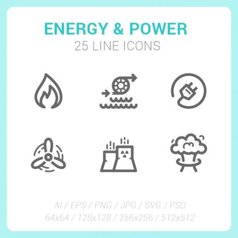 192 Flag Icons Hexagon Flat Design - Energy Power SS 06 490x490