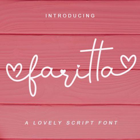 Best Rocky Handwritten Script 2020 | Faritta Rocky Handwritten Script - Faritta Preview 490x490