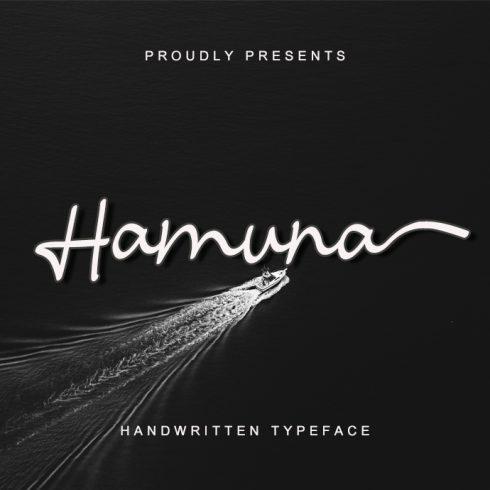 Hamuna Casual Script Font - Hamuna Preview 490x490