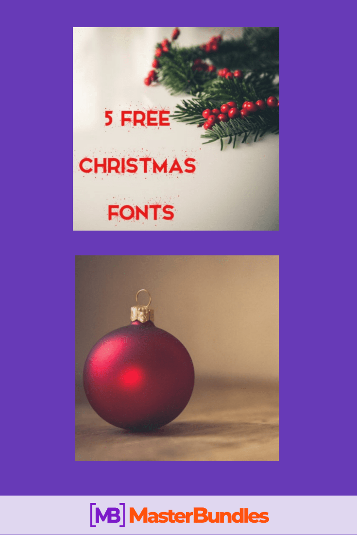110+ Best Christmas Fonts 2020: Free & Premium - best christmas fonts 12 min