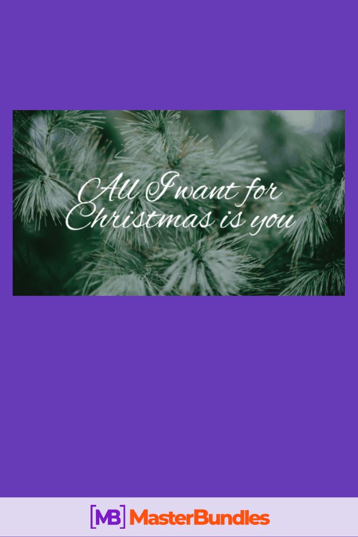 110+ Best Christmas Fonts 2020: Free & Premium - best christmas fonts 21 min