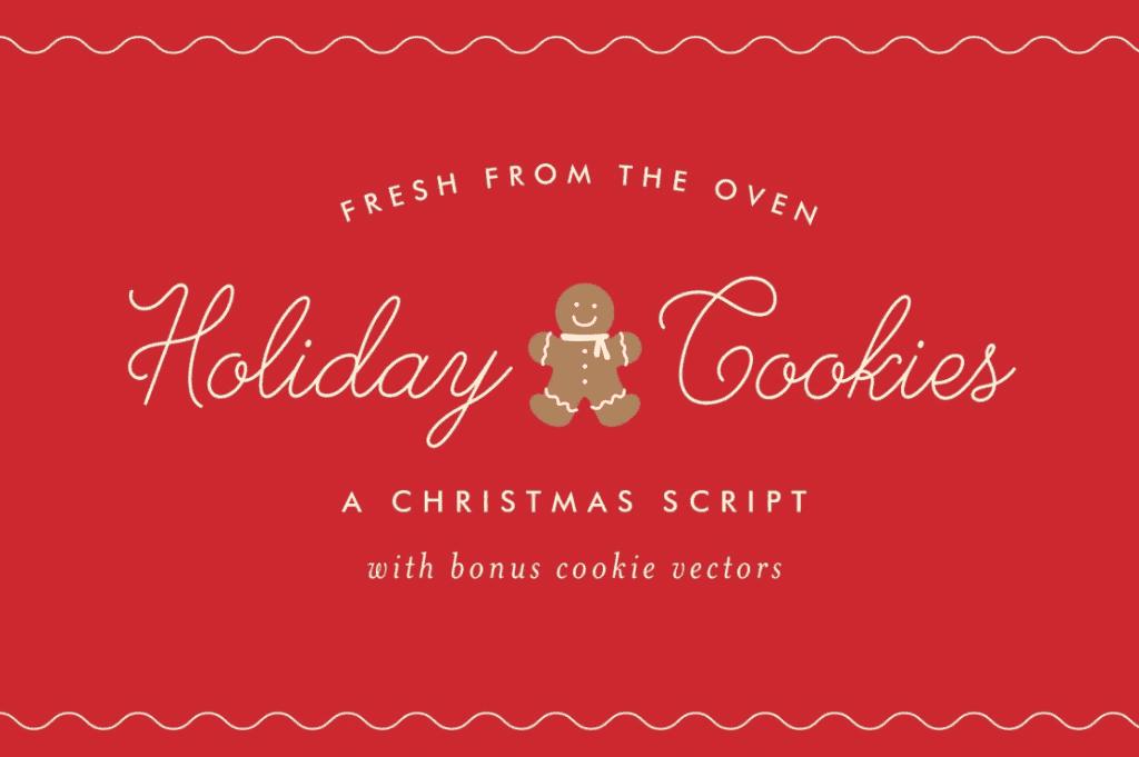 110+ Best Christmas Fonts 2020: Free & Premium - best christmas fonts 26 min