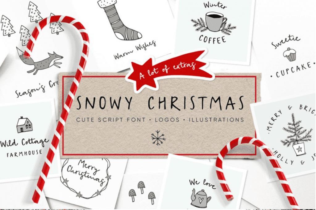 110+ Best Christmas Fonts 2020: Free & Premium - best christmas fonts 29 min