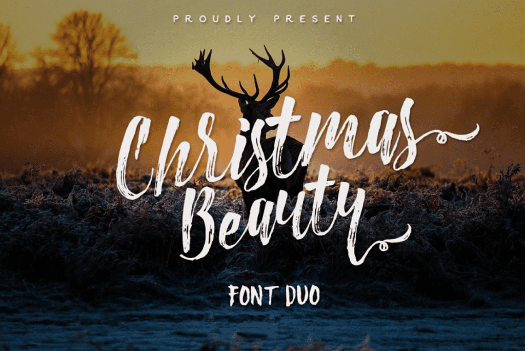 110+ Best Christmas Fonts 2020: Free & Premium - best christmas fonts 32 min