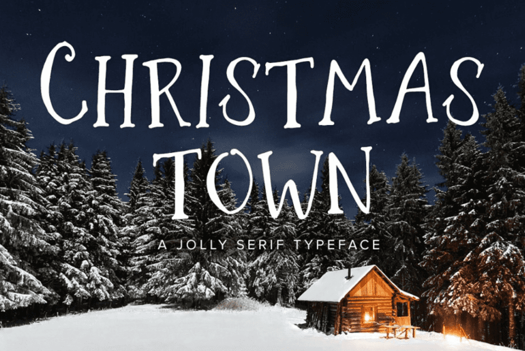110+ Best Christmas Fonts 2020: Free & Premium - best christmas fonts 33 min