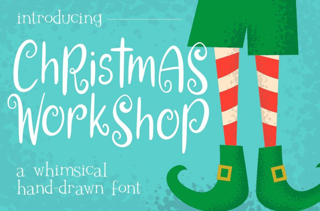 110+ Best Christmas Fonts 2020: Free & Premium - best christmas fonts 34 min