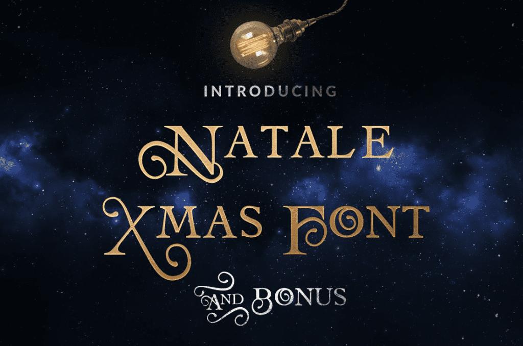 110+ Best Christmas Fonts 2020: Free & Premium - best christmas fonts 38 min
