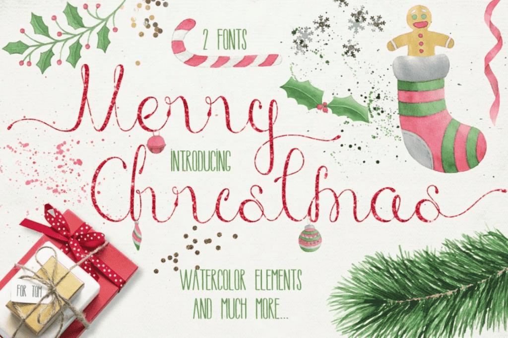 110+ Best Christmas Fonts 2020: Free & Premium - best christmas fonts 41 min
