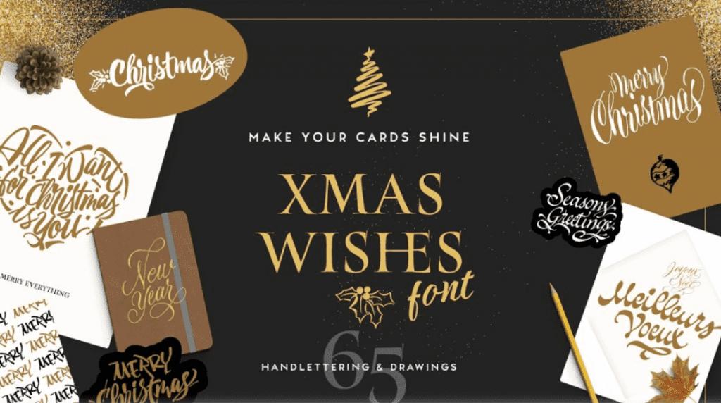 110+ Best Christmas Fonts 2020: Free & Premium - best christmas fonts 42 min