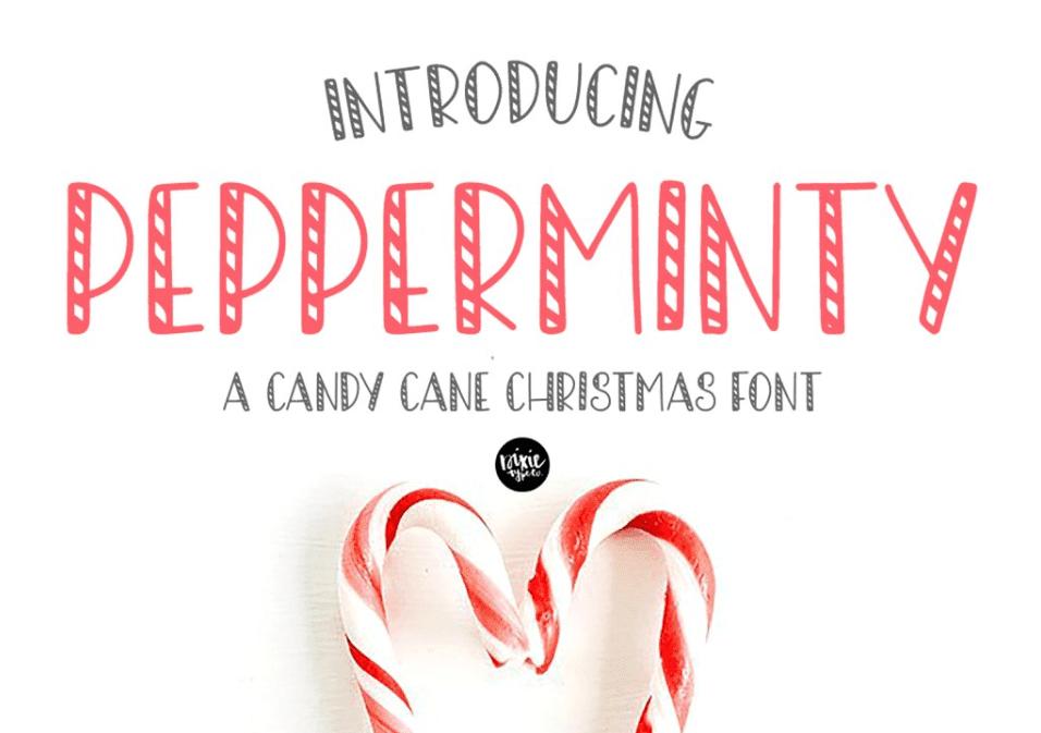 110+ Best Christmas Fonts 2020: Free & Premium - best christmas fonts 45 min