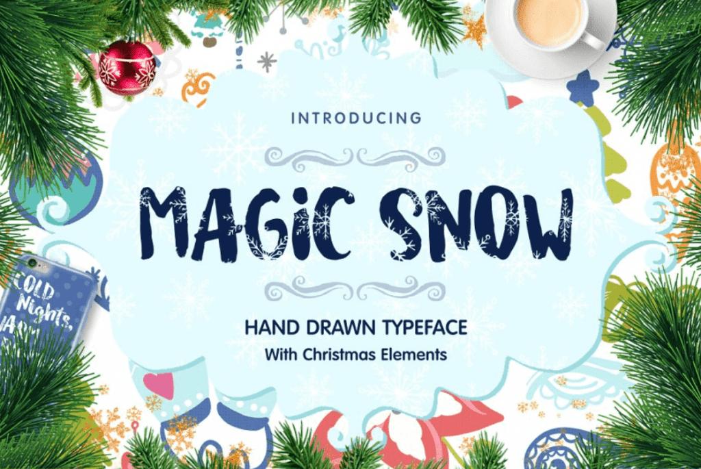 110+ Best Christmas Fonts 2020: Free & Premium - best christmas fonts 46 min