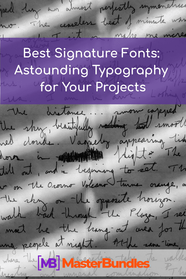 Best Signature Fonts. Pinterest.