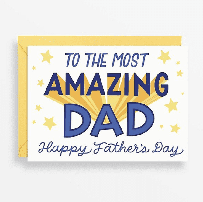 """50+ Best Father's Day Gifts & Cards in 2020: When Saying """"Thank You"""" to Your Dad... - fathers day cards 10"""