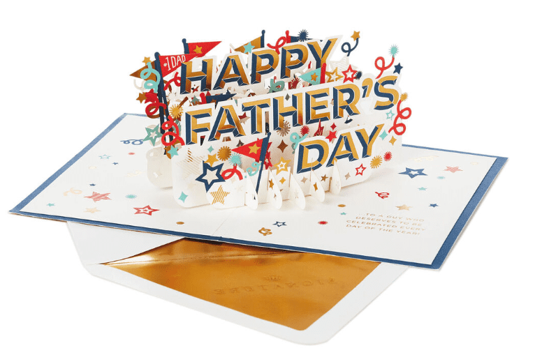 """50+ Best Father's Day Gifts & Cards in 2020: When Saying """"Thank You"""" to Your Dad... - fathers day cards 2"""