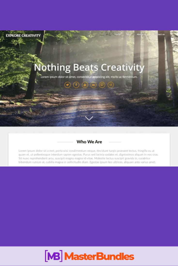30+ Best Free Landing Wordpress Themes. Start Earning On Selling Bundles Even If You Are A Non-Techie - free landing pages wp 11