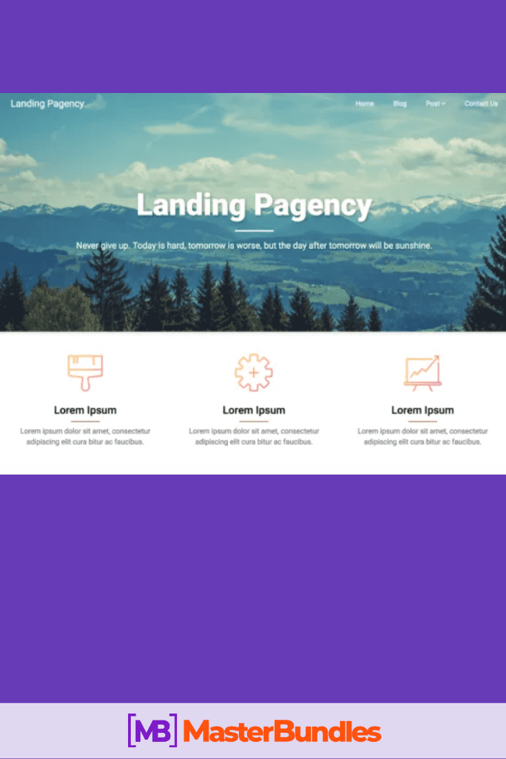 30+ Best Free Landing Wordpress Themes. Start Earning On Selling Bundles Even If You Are A Non-Techie - free landing pages wp 12