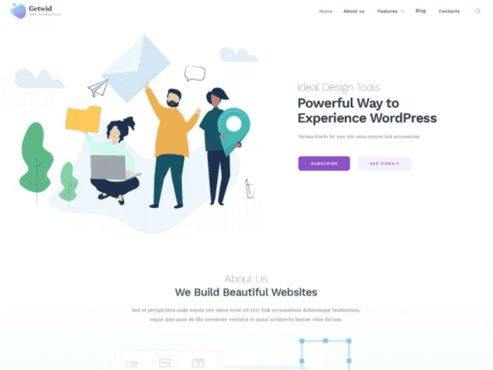 30+ Best Free Landing Wordpress Themes. Start Earning On Selling Bundles Even If You Are A Non-Techie - free landing pages wp 18