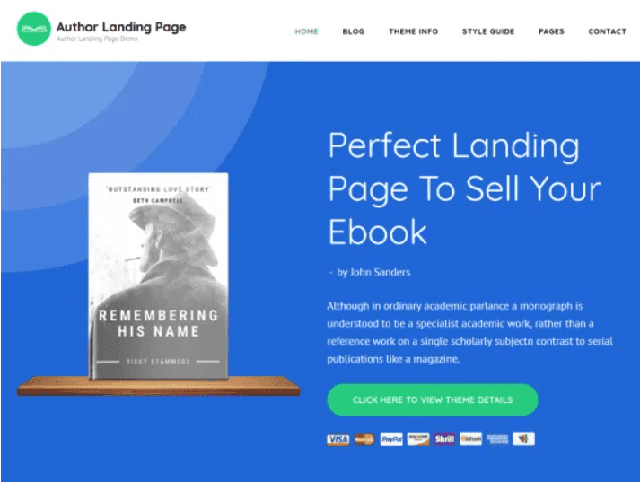 30+ Best Free Landing Wordpress Themes. Start Earning On Selling Bundles Even If You Are A Non-Techie - free landing pages wp 26