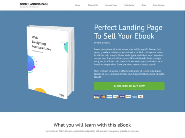 30+ Best Free Landing Wordpress Themes. Start Earning On Selling Bundles Even If You Are A Non-Techie - free landing pages wp 27