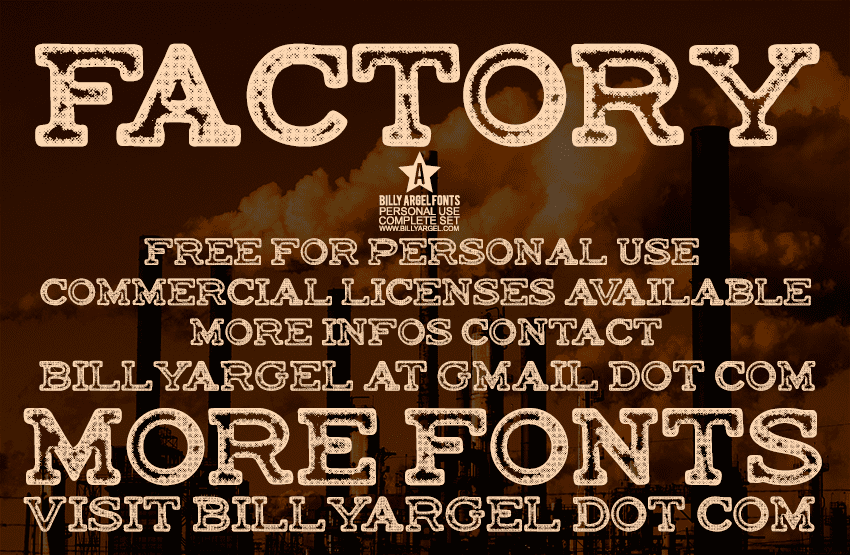 Top 20 Best Industrial Fonts 2020: Free and Premium - image22