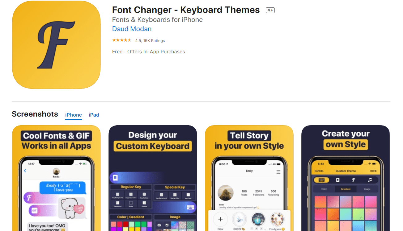 20+ Tools for Instagram Fonts in 2020. Awesome and Customize! - instagram font apps 9