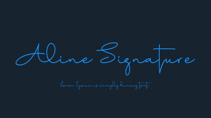 15+ Best Signature Fonts in 2020: Astounding Typography for Your Projects - signature fonts13