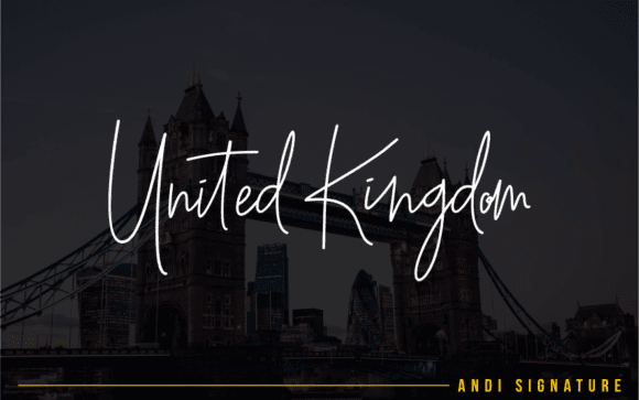 15+ Best Signature Fonts in 2020: Astounding Typography for Your Projects - signature fonts21