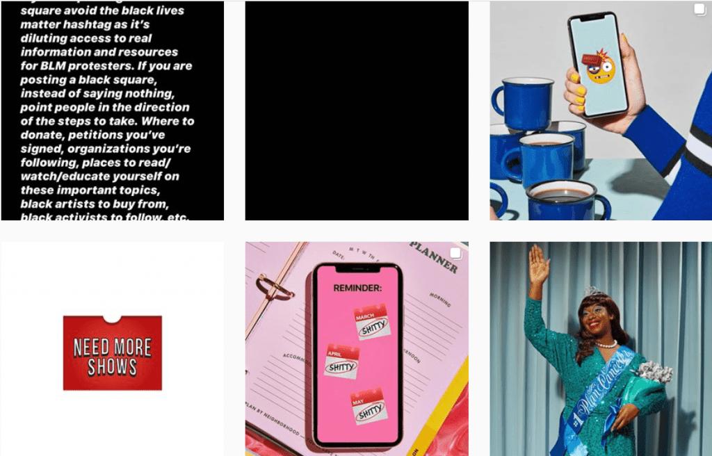 Web Design Inspiration: 110+ Accounts On Instagram and 10+ Best UX & Web Design Books in 2020 - web design inspiration instagram 01