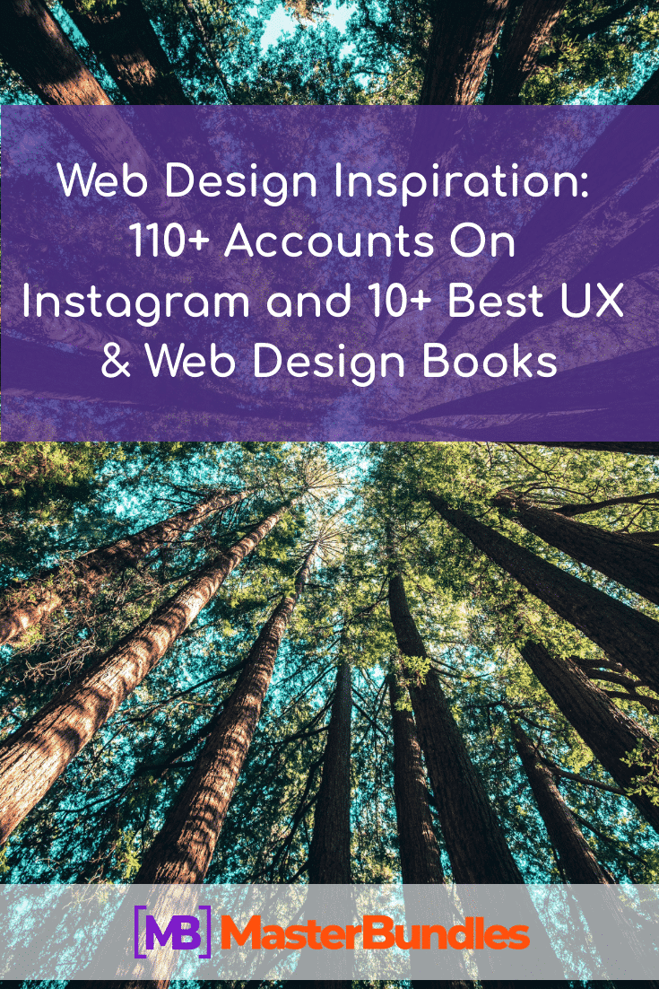 Web Design Inspiration: 110+ Accounts On Instagram and 10+ Best UX & Web Design Books. Pinterest.