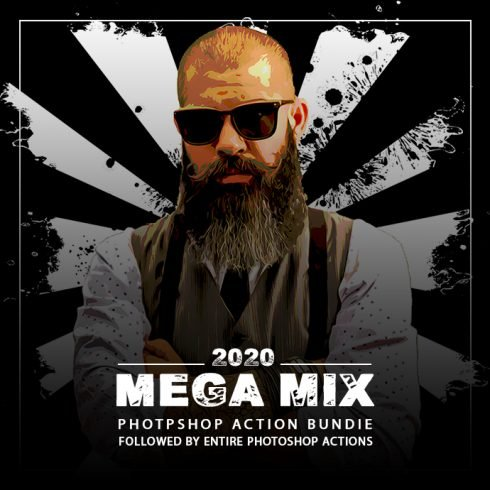 The Mega Mix Photoshop Action Bundle - 690 4 490x490