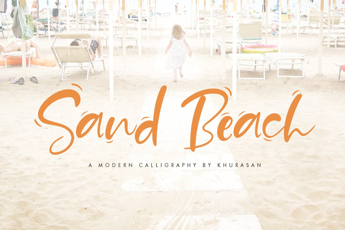 65+ Best Summer & Beach Fonts 2021: Free and Premium Fonts to Make Your Projects Exciting - Beachy Fonts 23