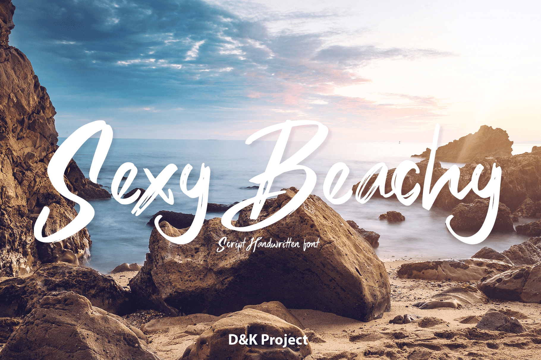 65+ Best Summer & Beach Fonts 2021: Free and Premium Fonts to Make Your Projects Exciting - Beachy Fonts3