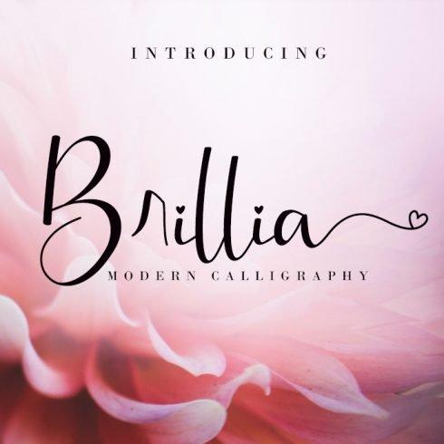 Happy Birthday Modern Calligraphy Brillia - Brillia Preview 490x490