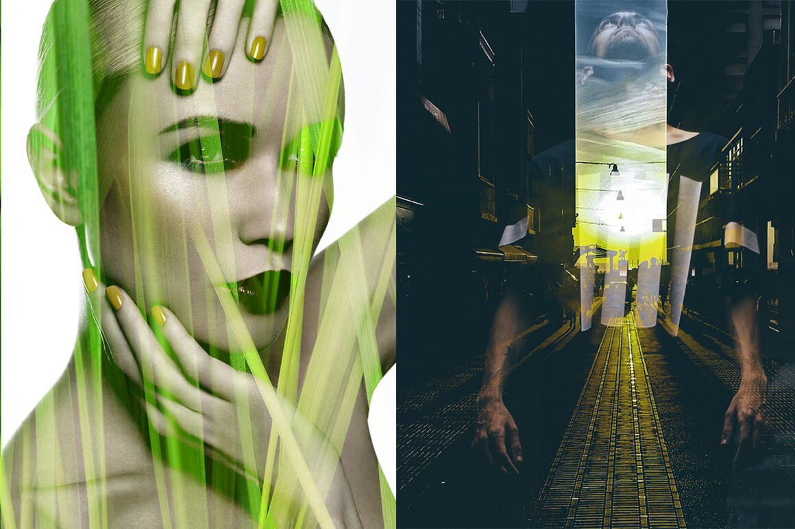 6-In-1 Double Exposure Photoshop Actions Bundle - PREVIEW 12 1