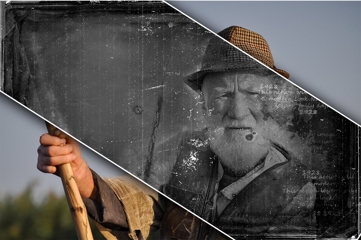 6-In-1 Vintage Photoshop Actions Bundle - PREVIEW 17 2