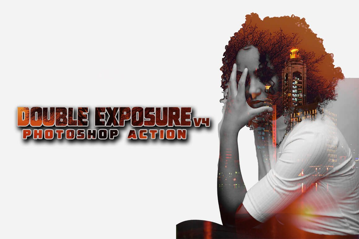 6-In-1 Double Exposure Photoshop Actions Bundle - PREVIEW 18 1