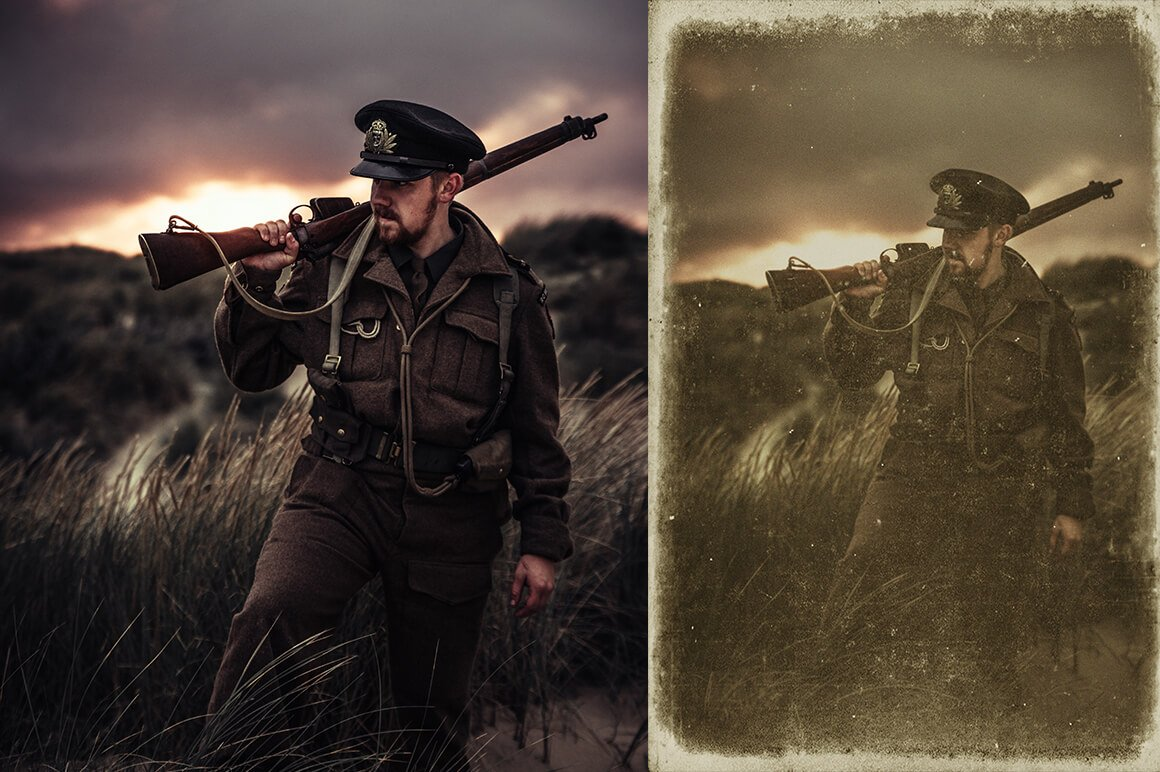 6-In-1 Vintage Photoshop Actions Bundle - PREVIEW 19 3