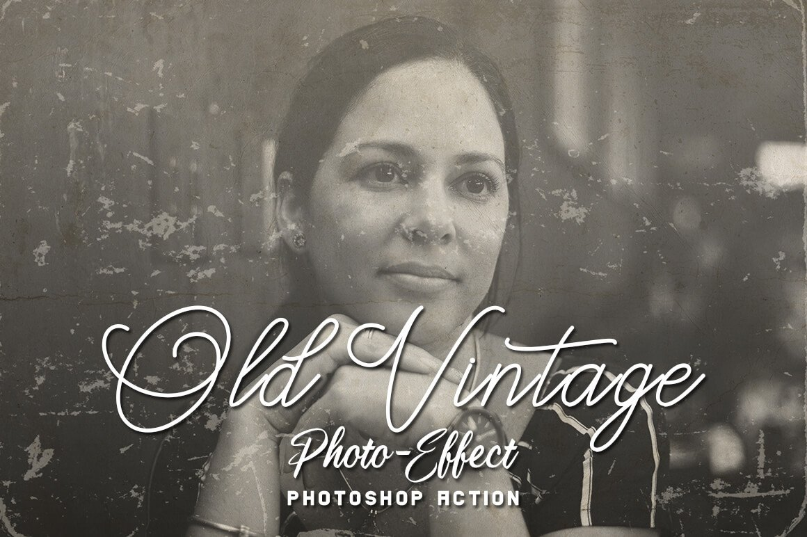 6-In-1 Vintage Photoshop Actions Bundle - PREVIEW 2 8