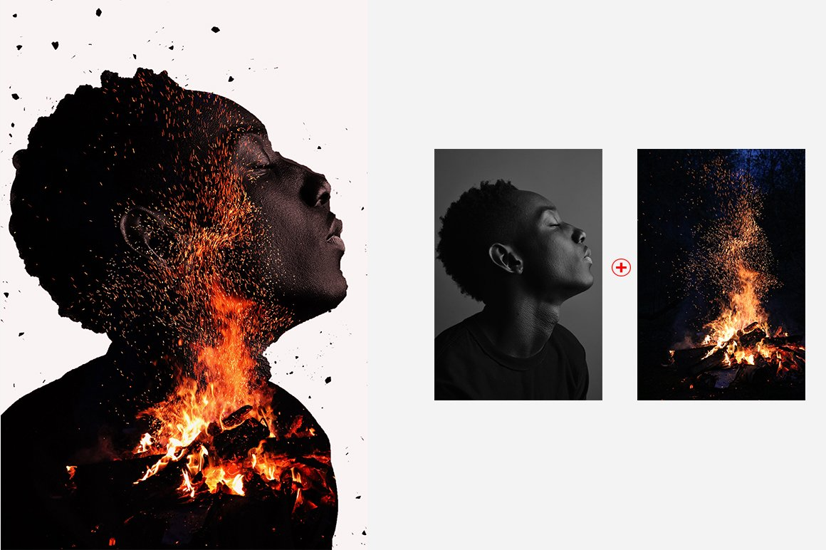 6-In-1 Double Exposure Photoshop Actions Bundle - PREVIEW 23 1