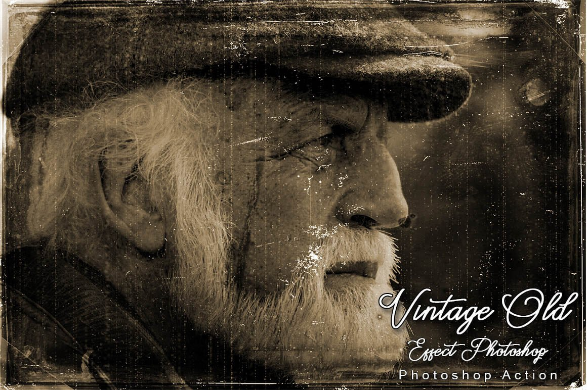 6-In-1 Vintage Photoshop Actions Bundle - PREVIEW 24...