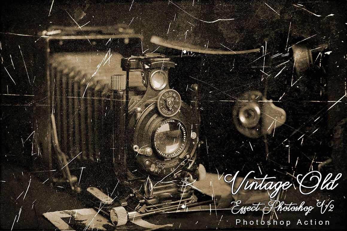 6-In-1 Vintage Photoshop Actions Bundle - PREVIEW 28...