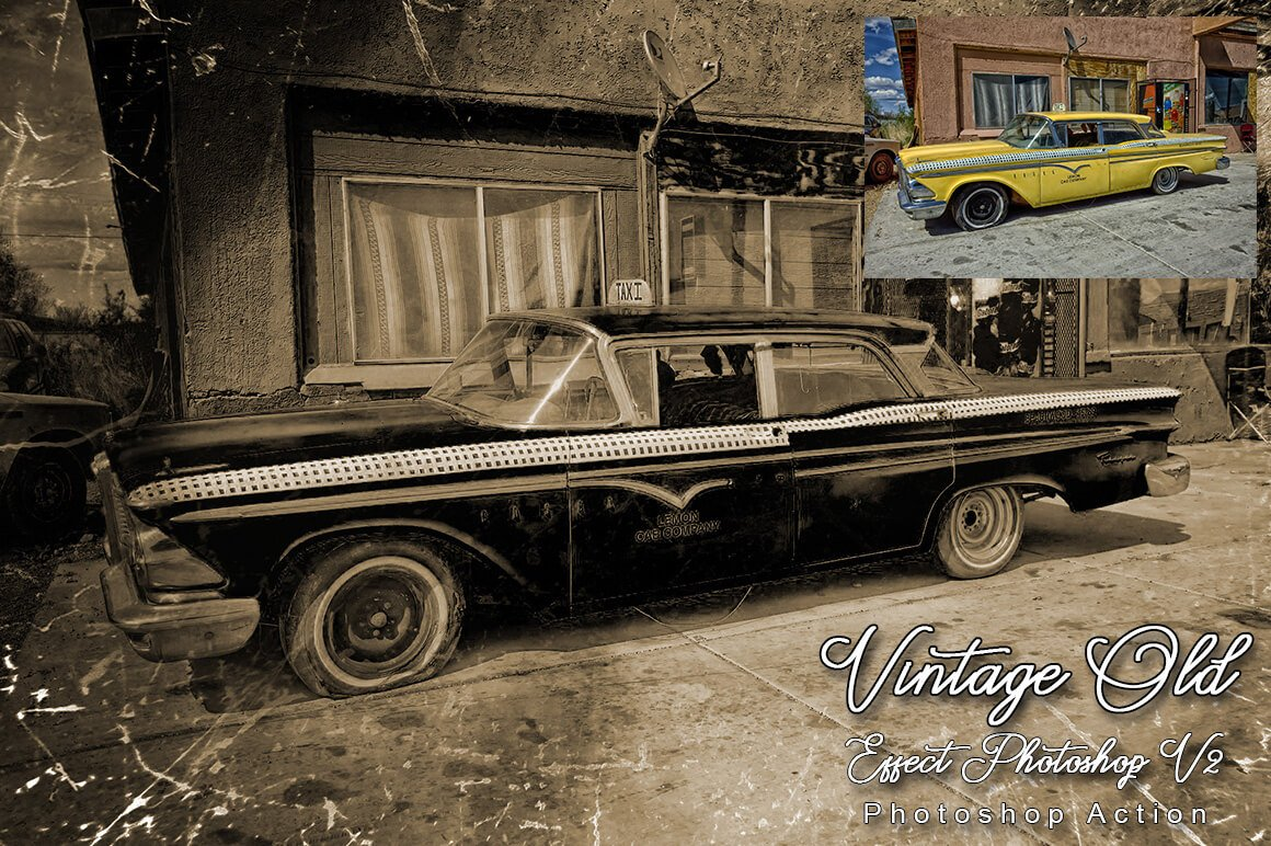 6-In-1 Vintage Photoshop Actions Bundle - PREVIEW 29 2